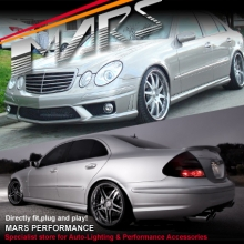 AMG E63 Style Front & Rear Bumper bar & Side Skirts for Mercedes-Benz W211 Sedan 07-08