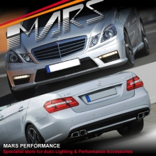 AMG E63 Style Front & Rear Bumper bar & Side Skirts for Mercedes-Benz W212 Sedan 09-13