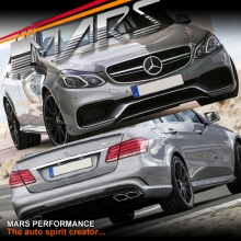 AMG E63 Style Front & Rear Bumper bar & Side Skirts for Mercedes-Benz W212 Sedan 14-16