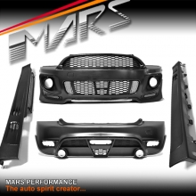 JCW Style Grill & Front & Rear Bumper bar & Side Skirts for Mini Cooper R56 07-13