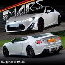Full TRD Style Front & Rear Bumper Bar lips & Side Skirts for TOYOTA 86 GT & GTS 12-16