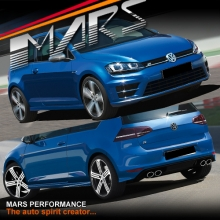 R20 Style Front & Rear Bumper Bar with Side Skirts for VolksWagen VW Golf VII 7 12-17
