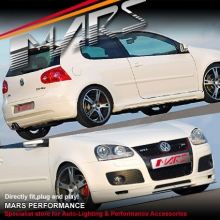 GTi Style Front & Rear Bumper Bar lips & Side Skirts for VolksWagen VW Golf V 03-08
