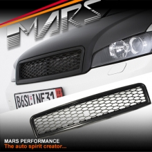BLACK RS HONEYCOMB STYLE FRONT GRILLE FOR AUDI A4 S4 B6 SEDAN & AVANT