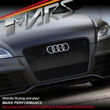 MATT BLACK RS HONEY-COM STYLE FRONT GRILLE FOR AUDI TT 8J 06-10