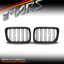 Gloss Black M4 style Front Grille for BMW E36 97-98 Sedan Coupe Convertible