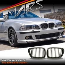 Matt Black M5 style front kidney grille for BMW E39 Sedan & Wagon