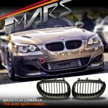 Matt Black M5 style Front Kidney Grille for BMW E60 E61 03-09, include M5