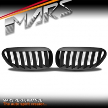 Matt Black M6 Style Front Kidney Grille for BMW 6 Series E63 E64 Coupe & Convertible
