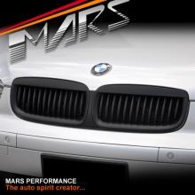 Matt Black Front Kidney Grille for BMW 7 Series E65 E66 PRE-LCI 02-04