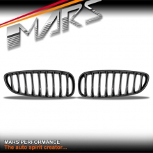 Gloss Black M Style Front Bumper Bar Kidney Grille for BMW Z4 E89