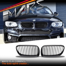 Matt Black M3 Style Front Grille for BMW 3 Series E92 Coupe & E93 Convertible LCI 10-13
