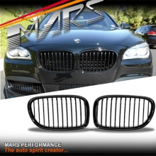 Gloss Black Front Kidney Grille for BMW 7 Series F01 F02 F03 F04