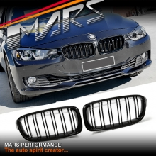 Gloss Black M3 Style Front Kidney Grille for BMW 3 Series F30 F31
