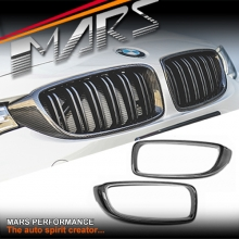 Carbon Fibre Front Kidney Grille Cover for BMW 4 Series F32 F33 F36 & F80 M3 F82 F83 M4