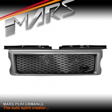 Autobiography Supercharged Style Front Grille for LAND ROVER Range Rover Sport L320 05-09 Matt Grey & Gloss Black