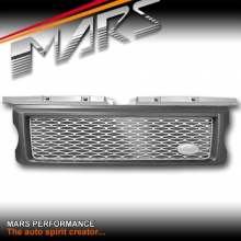 Autobiography Supercharged Style Front Grille for LAND ROVER Range Rover Sport L320 05-09 Matt Grey & Silver