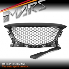 Matt Black RS Style Front Bumper Bar Grille for MAZDA 3 BM 2013-2016