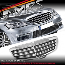 AMG S65 Style Front Grill for Mercedes-Benz S-Class W221 10-13
