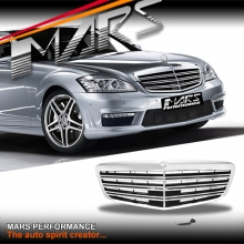 AMG S65 Style Front Bumper bar Grill for Mercedes-Benz S-Class W221 10-13