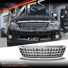 Chrome Black AMG Style Front Grill for TOYOTA HILUX VIGO 05-11