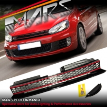 GTi Non Badge Style Front Grill for VolksWagen VW Golf VI 09-13