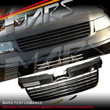 MARS Non Badge Style Front Bumper Bar Grill for VolksWagen VW Transporter T5 04-10