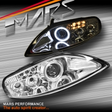 Crystal CCFL Angel-Eyes Projector Low Beam Head Lights for Toyota Soarer & Lexus SC300 SC400