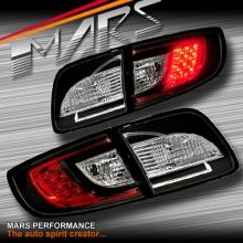 Black LED Tail Lights for Mazda 3 4 doors Sedan BK 03-09