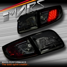 Full Smoked LED Tail Lights for Mazda 3 4 doors Sedan BK 03-09