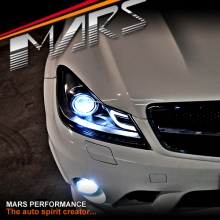 AMG C63 Style Projector DRL Head Lights for Mercede-Benz C-Class W204 11-14 (NON AFS MODEL)