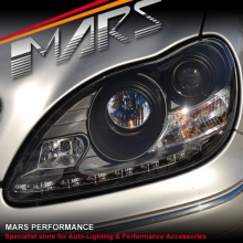 LED Day-Time DRL Projector Head Lights for Mecedes-Benz S Class W220 98-05