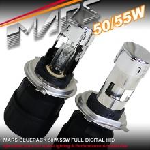 MARS 55W AC HID Xenon Head Lights H4 Bi-Xenon Bulbs