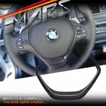 MARS Carbon Fibre Steering Wheel Cover for BMW 1 Series F20 & 2 Series F22