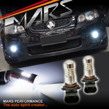 MARS Projector Super Bright LED SMD Bumper Bar Driving Fog Lights Bulbs for Holden Commodore VE Series 2