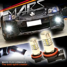 MARS Projector Super Bright LED SMD Bumper Bar Driving Fog Lights Bulbs for Holden Commodore VE Series 1