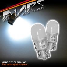 2x MARS Super Bright 3D LED SMD T10 W5W White Light bulbs