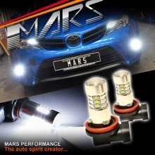 2x MARS Performance High Power Torch Projector LED SMD White Fog Light Bulbs for TOYOTA Corolla