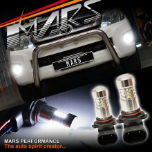 2x MARS HB4 Performance High Power Projector LED SMD White Fog Light Bulbs for TOYOTA HILUX