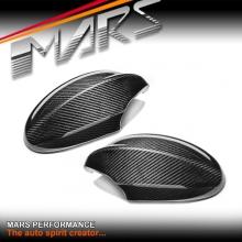 Real Carbon Replacement Fibre Mirror Cap Covers for BMW E90 Sedan & E91 Wagon Pre LCI 05-08