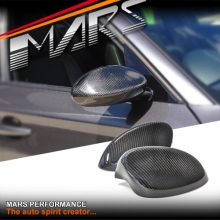 MARS Real Carbon Fibre Mirror Cover for BMW E81 E82 E87 E88 Pre LCI 04-09