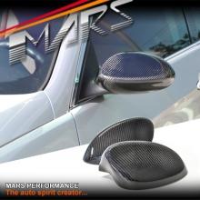 MARS Carbon Fibre Mirror Caps Cover for BMW E92 Coupe & E93 Convertible 06-09