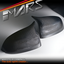 Real Carbon Fibre Replacement Mirror Caps for BMW F25 X3 F26 X4 F15 X5 F16 X6