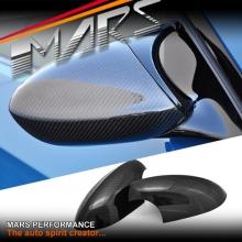 Real Carbon Fibre Mirror Covers for BMW 3 Series M3 E92 E90 E93 & 1 Series 1M E82