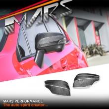 MARS Real Carbon Fibre Mirror Cap Covers for SUBARU WRX & STI 2014-2017