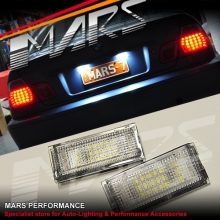 Super Bright SMD Trunk Number Plate Lights for BMW E46 Sedan 98-04