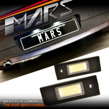 Super bright SMD Number Plate Lights for BMW 1 Seires F20 E81 E87 Hatch
