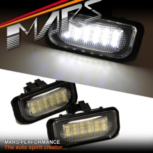 Super bright SMD Number Plate Lights for Mecedes Benz C-Class W203 Sedan