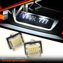 One pair of Super bright SMD Number Plate Lights for Mercedes Benz