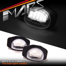 Super bright SMD Number Plate Lights for TOYOTA Corolla Sedan Hatch Wagon